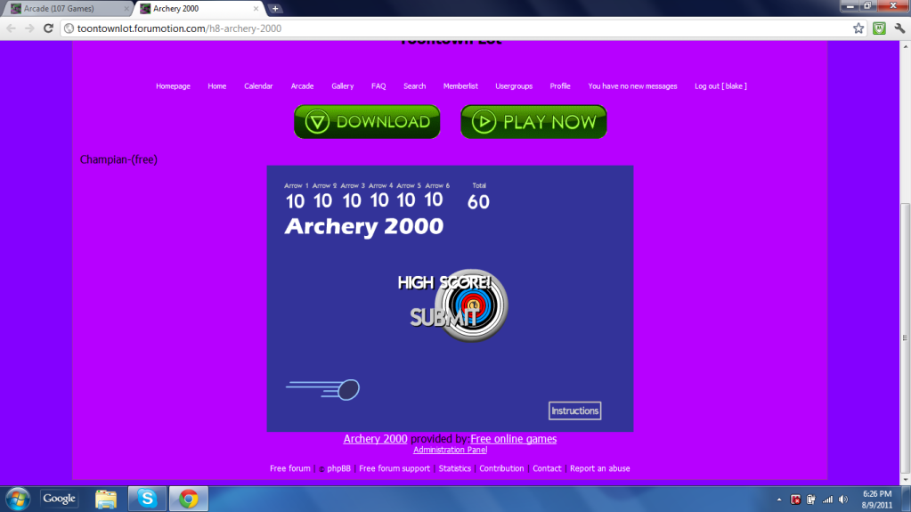 Archery 2000 ARCHERY