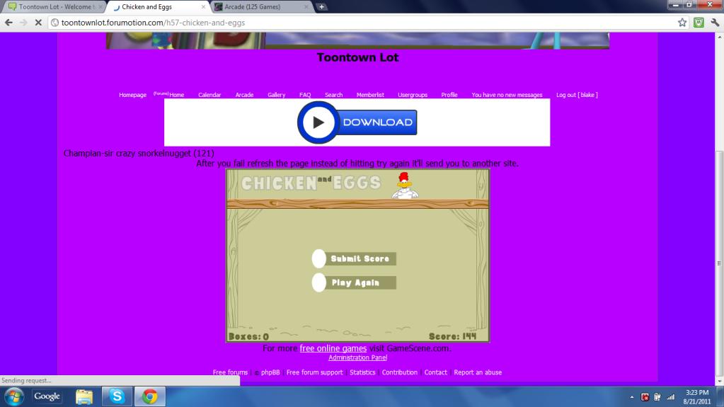 Chicken and Eggs Chickenandeggsscore