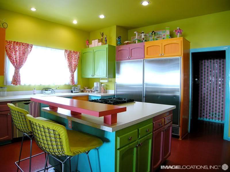 Description Pretty-Colourful-Kitchen-Concept