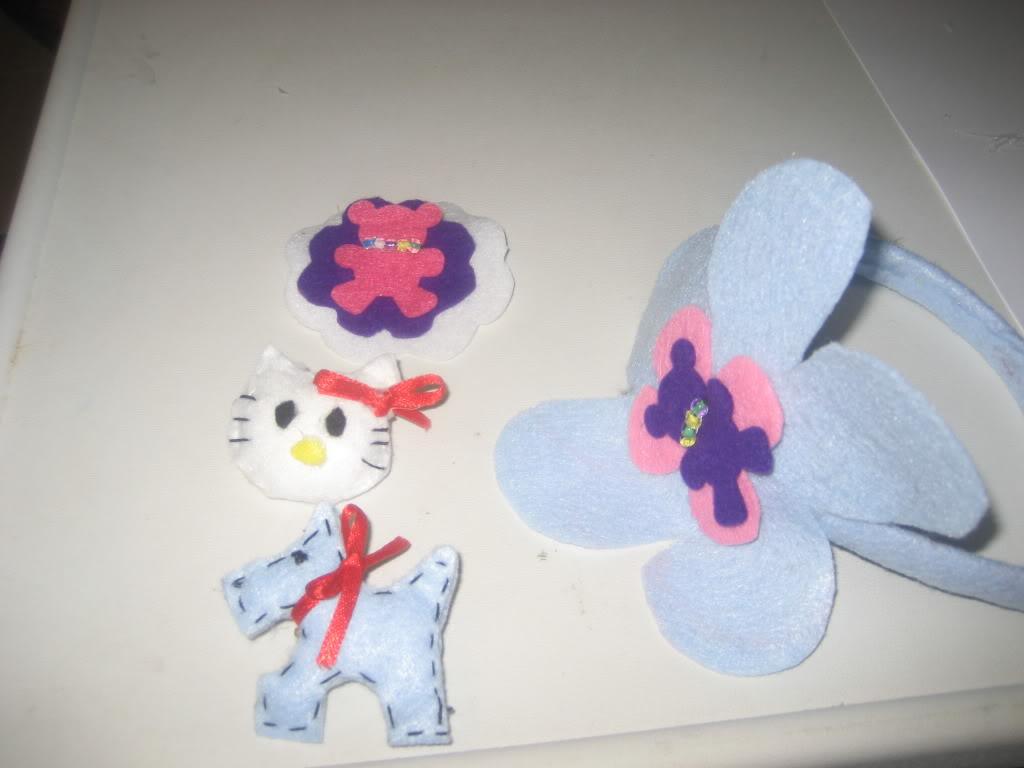 Diadema y broche que hice por fieltro Febrerode2012Noatiene2aos031