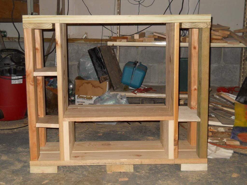 stand i'm makeing for 55 gallon and a ten DSCN0810