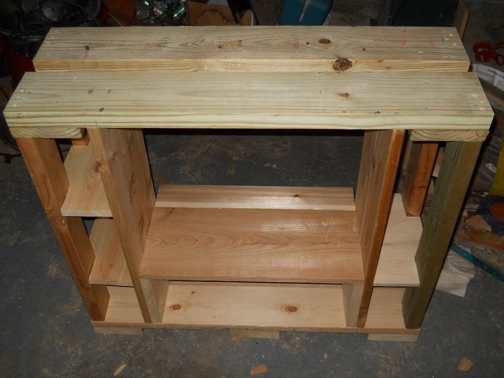 stand i'm makeing for 55 gallon and a ten DSCN0811