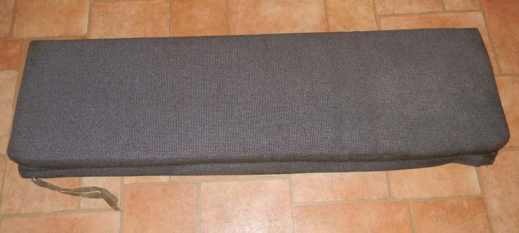 110. rear bench cushion. FREE TO GOOD HOME Basecushion