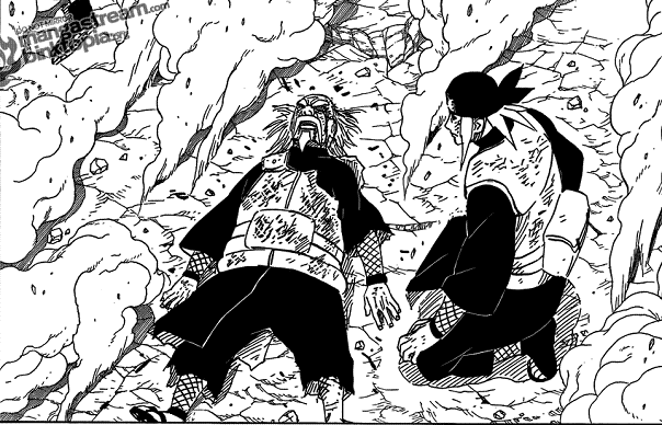 [Review] Naruto chapter 561 - 562 Naruto561Art08