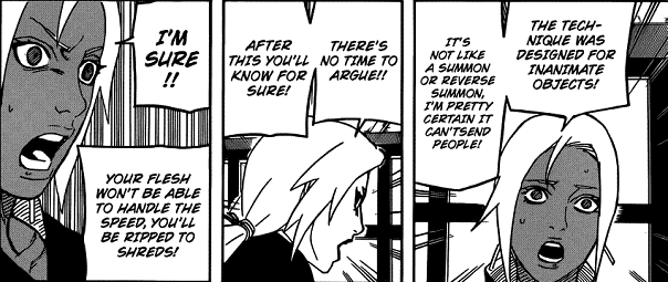 [Review] Naruto chapter 561 - 562 Naruto56207