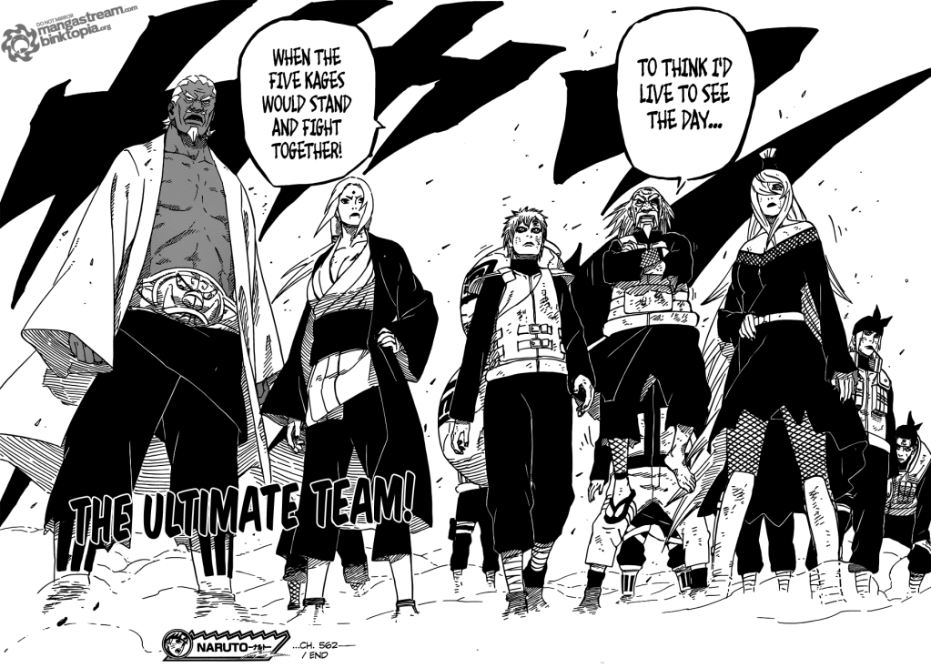 [Review] Naruto chapter 561 - 562 Naruto56217