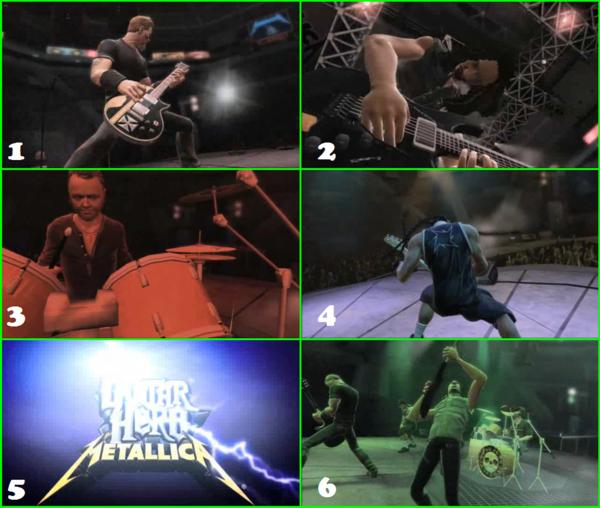 Thème Guitar Hero Metallica Metallica