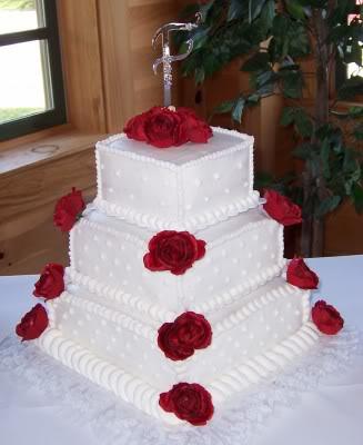 Lovely Cakes FirstSquareWeddingCake