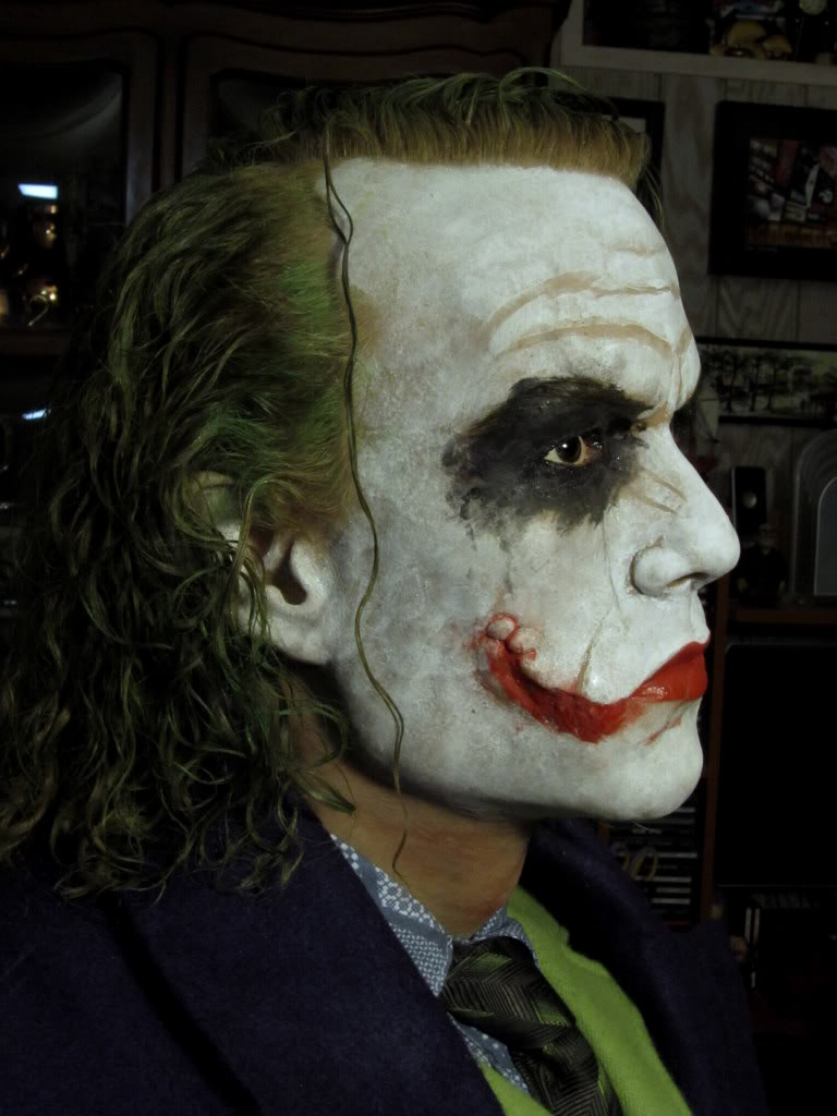 "The Joker ""The Dark Knight"" Life Size Bust par BobbyC IMG_2590"