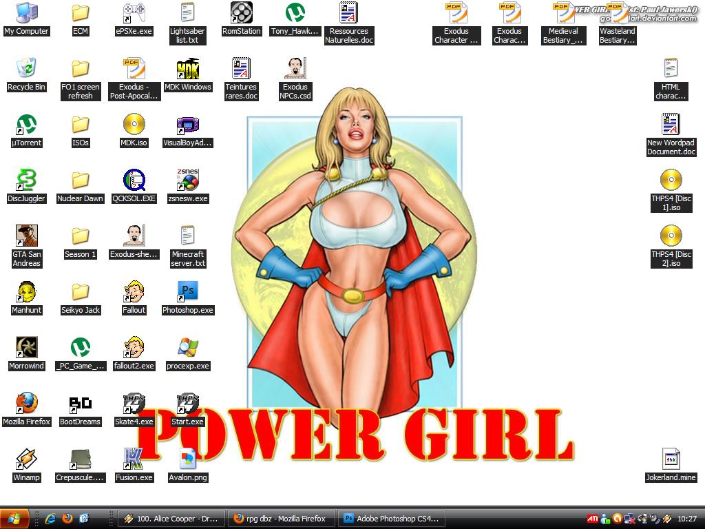 Votre fond d'écran du moment - Page 5 PowerGirl