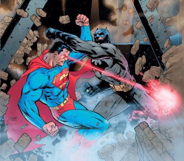 ¡Vaya día que llevo!. Se me ha metido un murciélago en casa Superman_vs_batman