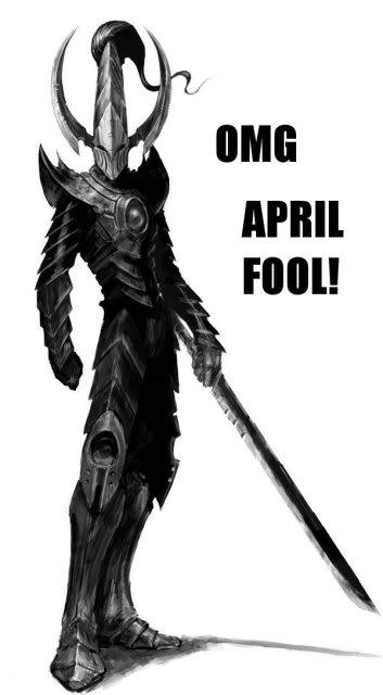 The Dark City April Fools 2013 April