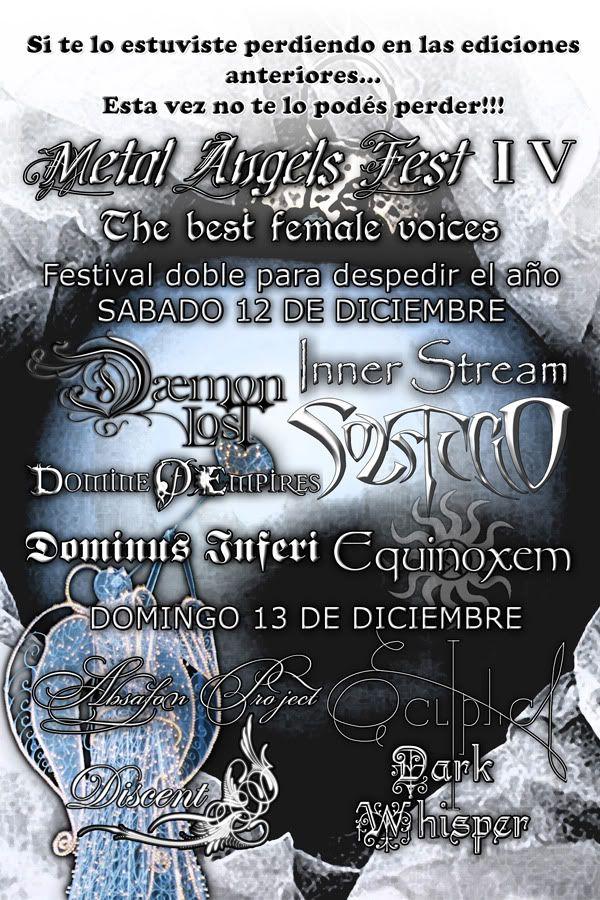 METAL ANGELS FEST IV - Unione e Benevolenza [12 y 13 de Diciembre] 600