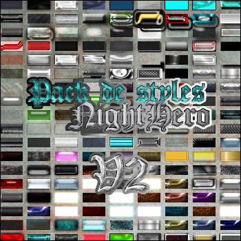 Styles NightHero V2 PackDeStyleNightHeroV2