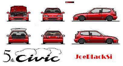 Los Dichosos Pixel Cars Copiadepixelcivic