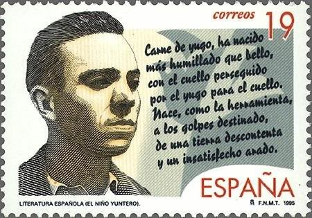 Miguel Hernández · El niño yuntero Yunq16