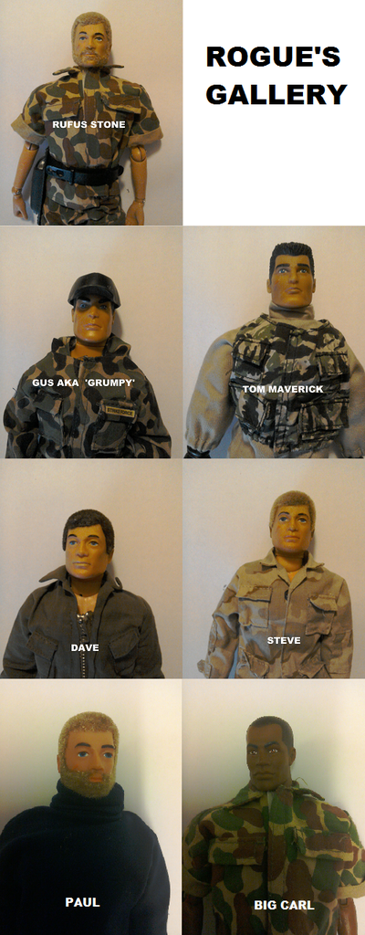 Top Secret - Operation Dropkick - Did/Does your Action Man have a name? - Page 3 RG