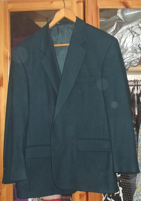 MY PURCHASES Jacket-teal