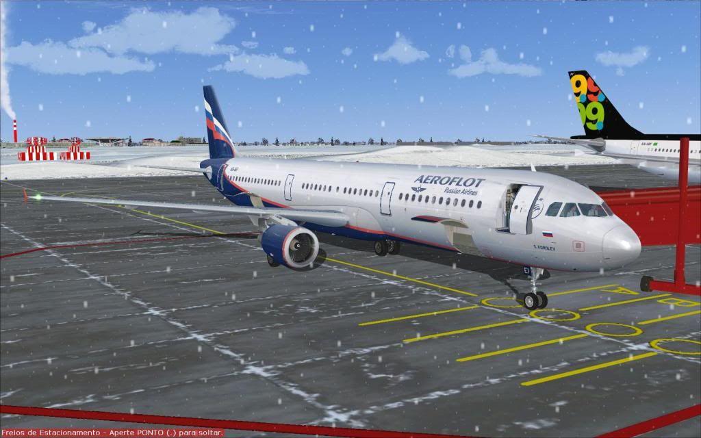 Airbus A321 Aeroflot Fs92012-01-2221-44-50-38