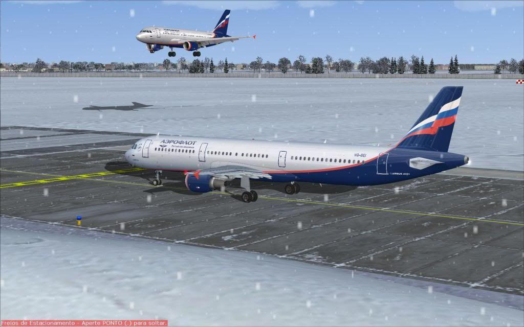 Airbus A321 Aeroflot Fs92012-01-2221-56-00-84