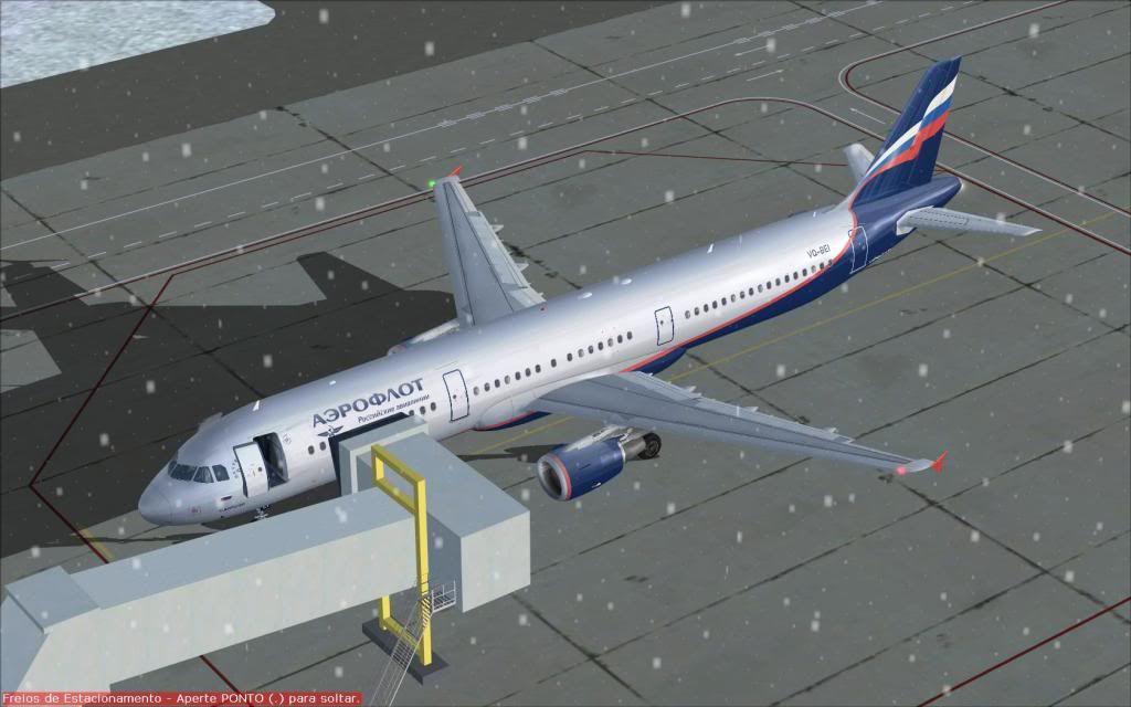 Airbus A321 Aeroflot Fs92012-01-2223-35-10-51