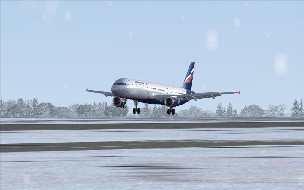 Airbus A321 Aeroflot Fs92012-01-2223-38-15-73
