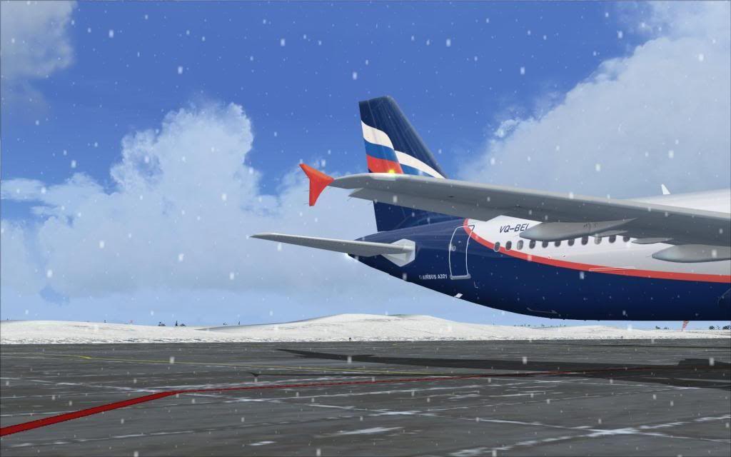 Airbus A321 Aeroflot Fs92012-01-2223-45-21-92
