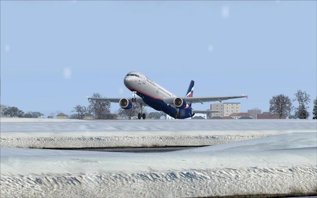 Airbus A321 Aeroflot Fs92012-01-2223-50-13-79