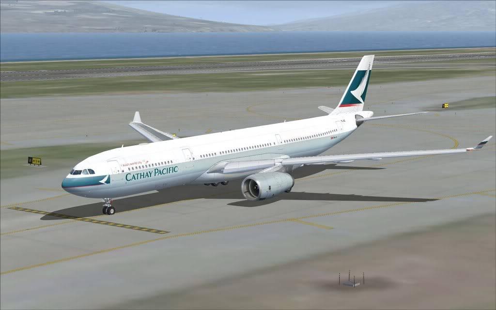 Airbus A330 Cathay Shot0001