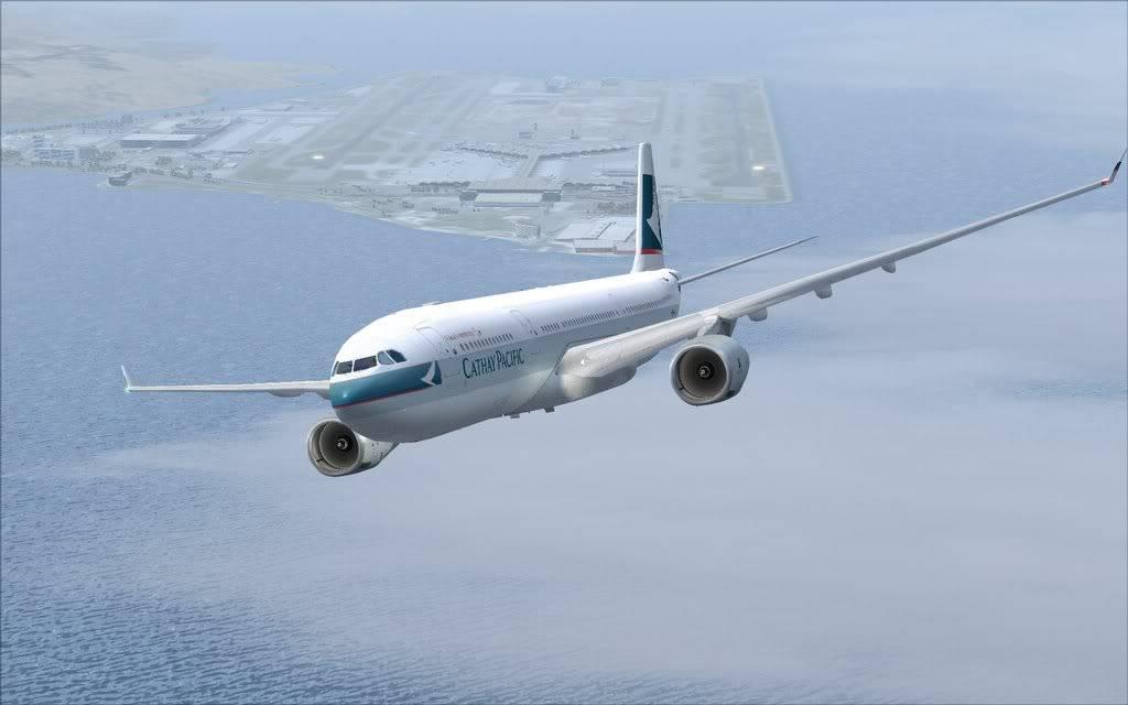 Airbus A330 Cathay Shot0002