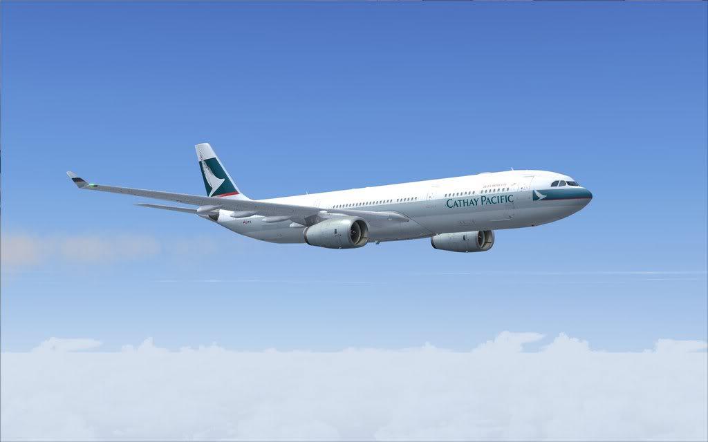 Airbus A330 Cathay Shot0005