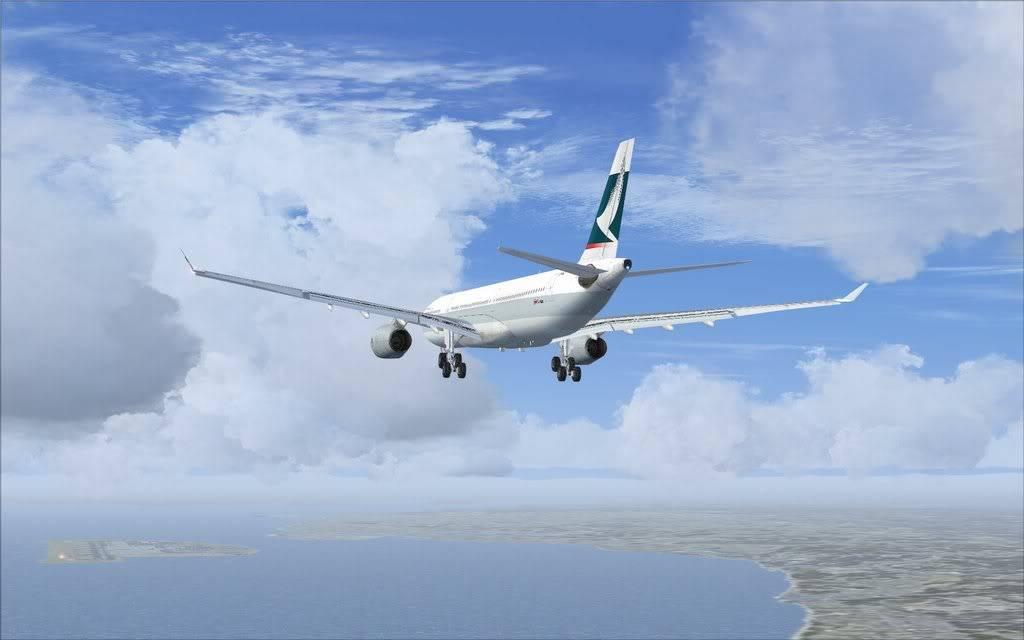 Airbus A330 Cathay Shot0007