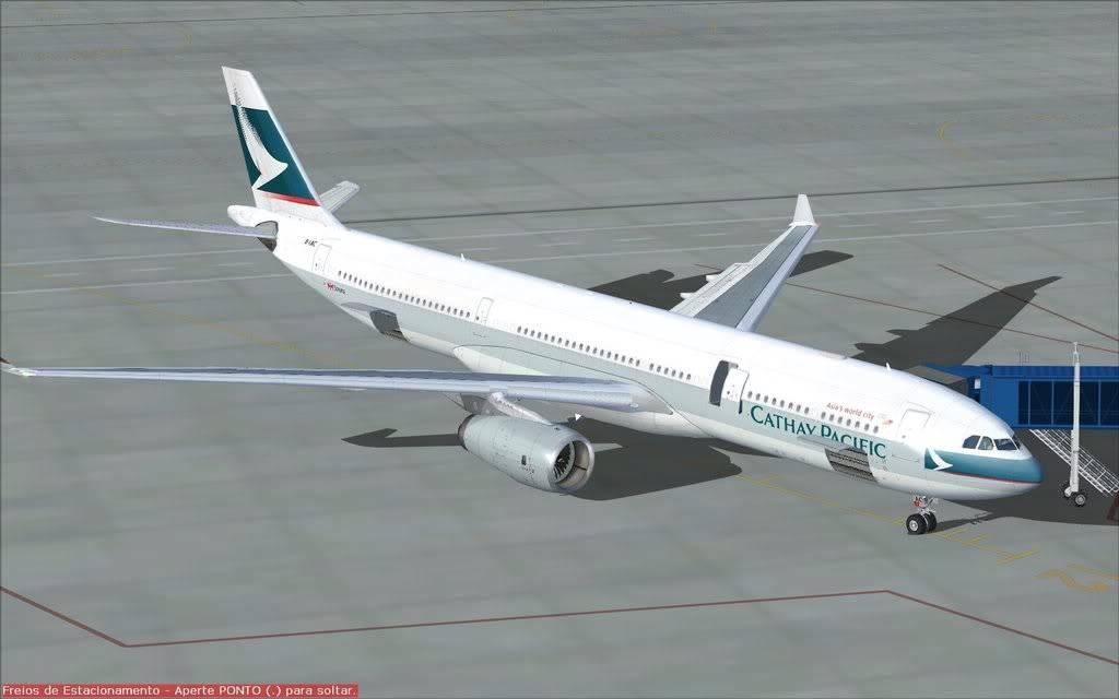 Airbus A330 Cathay Shot0008