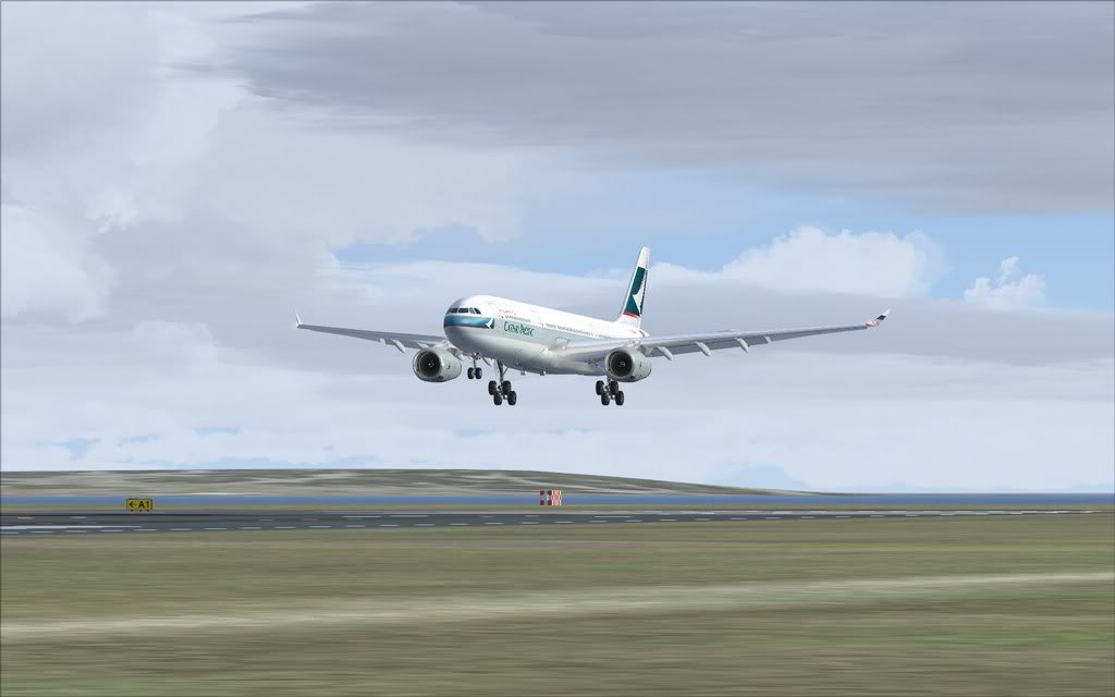 Airbus A330 Cathay Shot0013