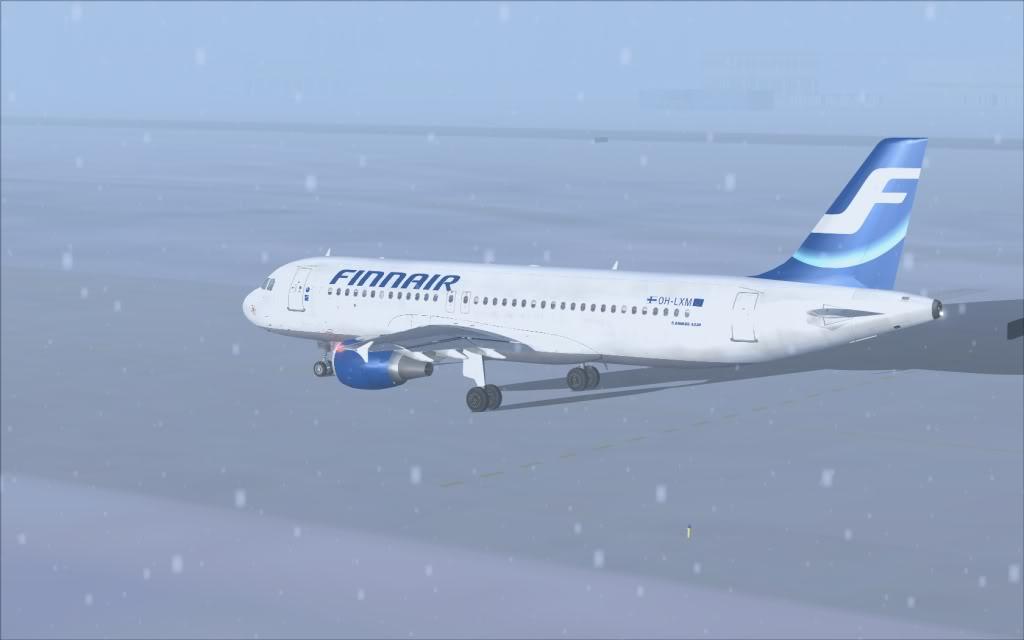 Airbus A320 Finnair Shot0001
