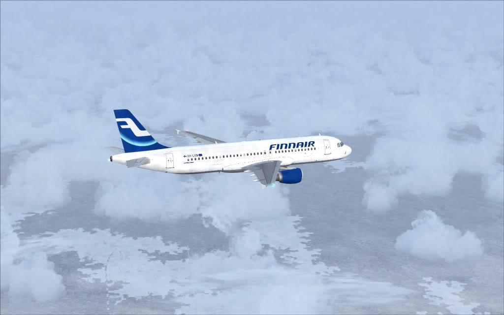 Airbus A320 Finnair Shot0002