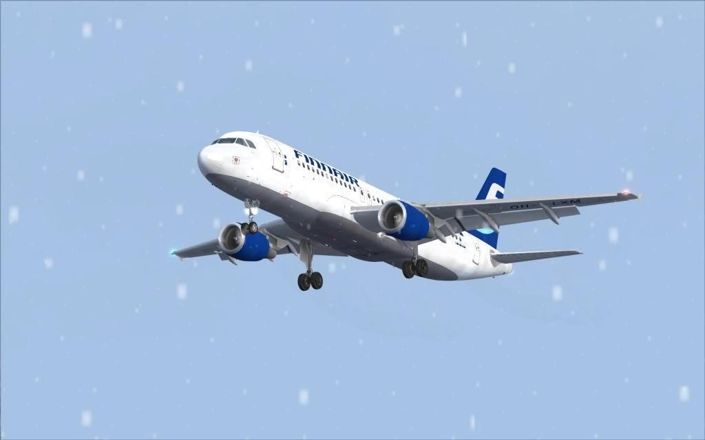 Airbus A320 Finnair Shot0005