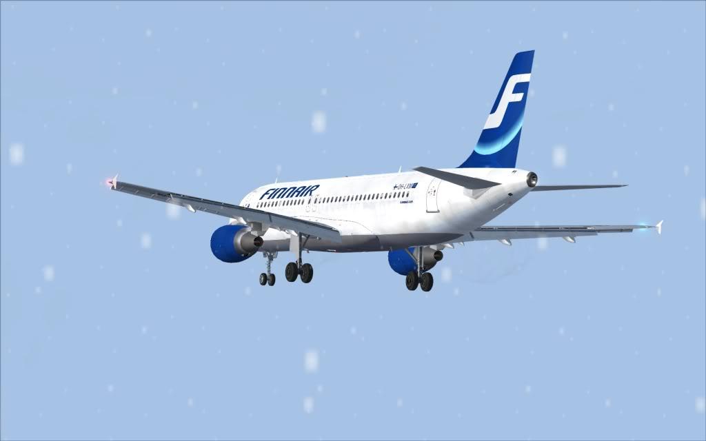Airbus A320 Finnair Shot0006