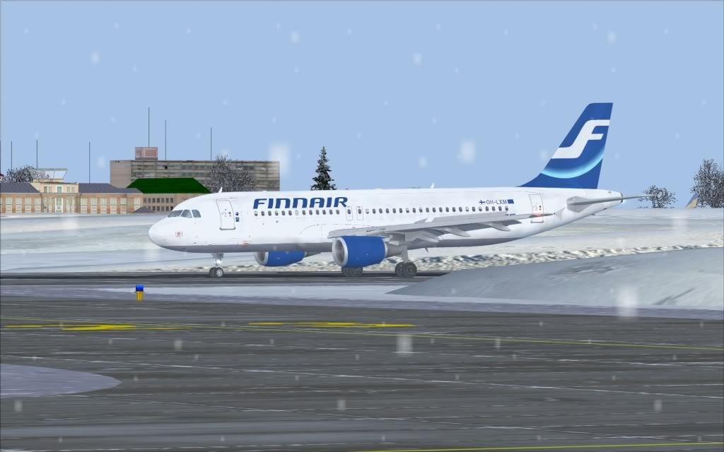 Airbus A320 Finnair Shot0007