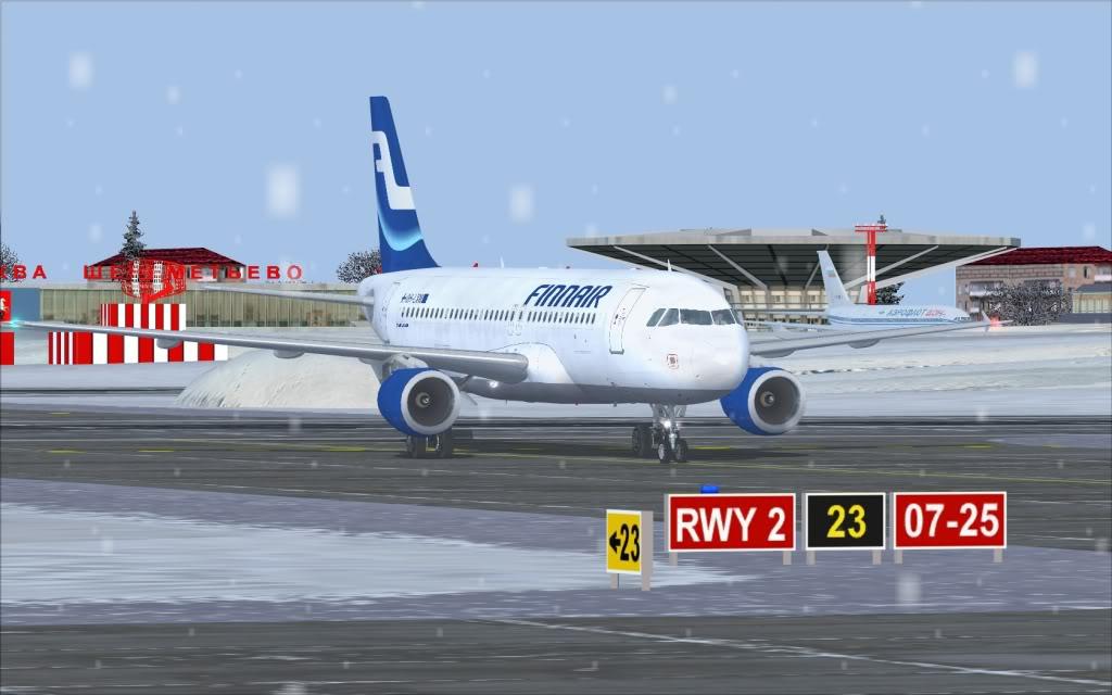 Airbus A320 Finnair Shot0008
