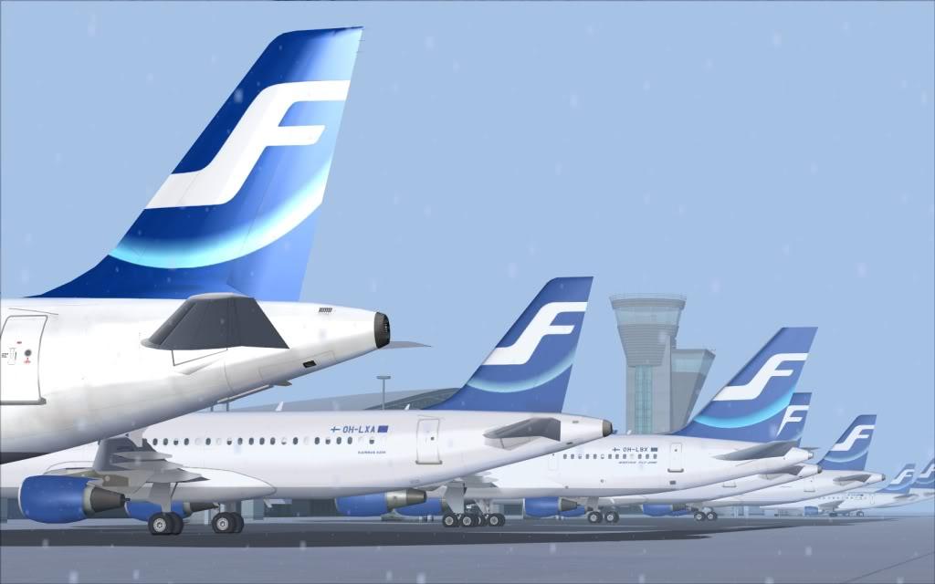 Airbus A320 Finnair Shot0010