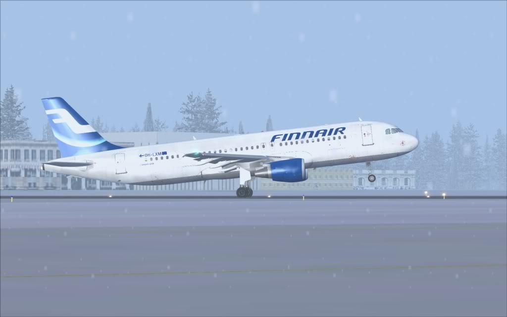 Airbus A320 Finnair Shot0011