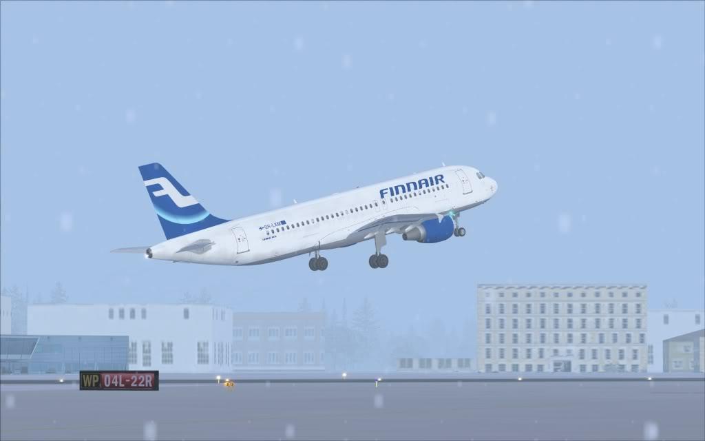 Airbus A320 Finnair Shot0012