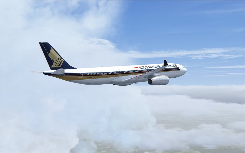 Airbus A330 Singapore Shot0002