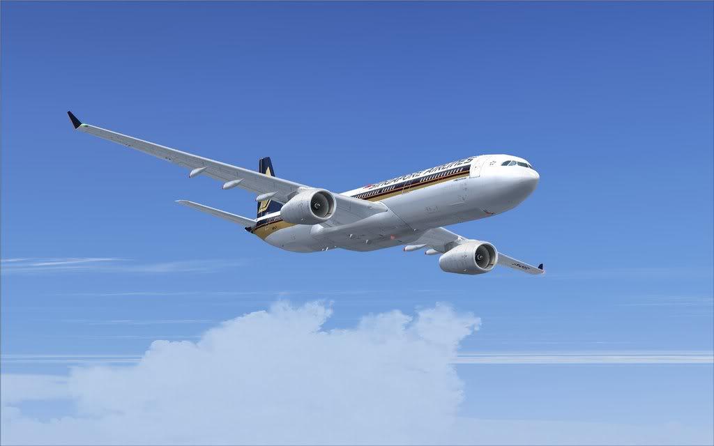 Airbus A330 Singapore Shot0003