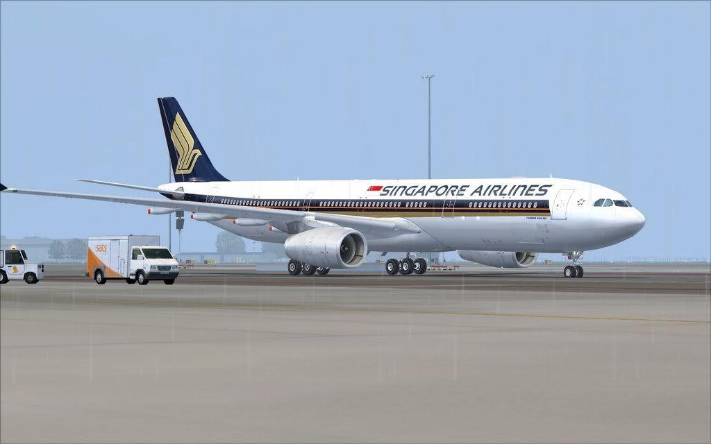 Airbus A330 Singapore Shot0010