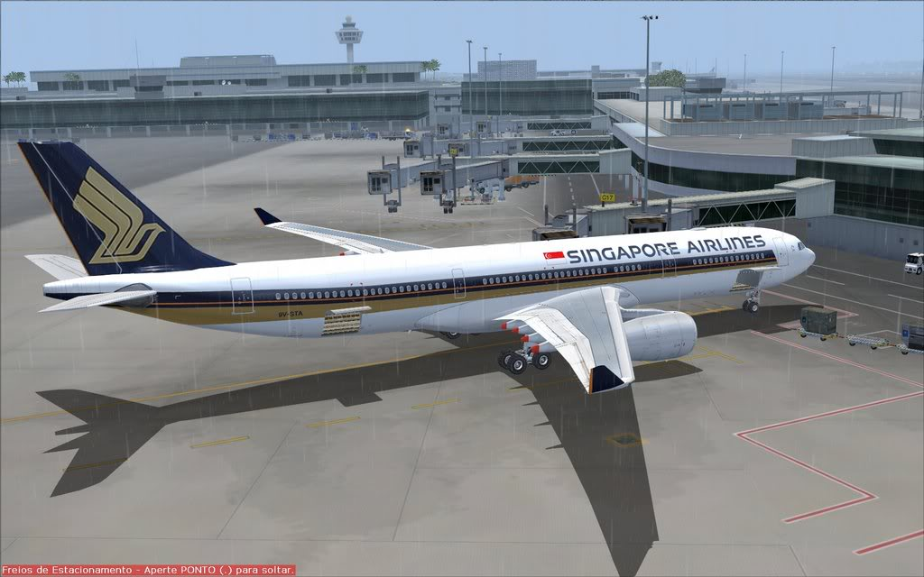 Airbus A330 Singapore Shot0011