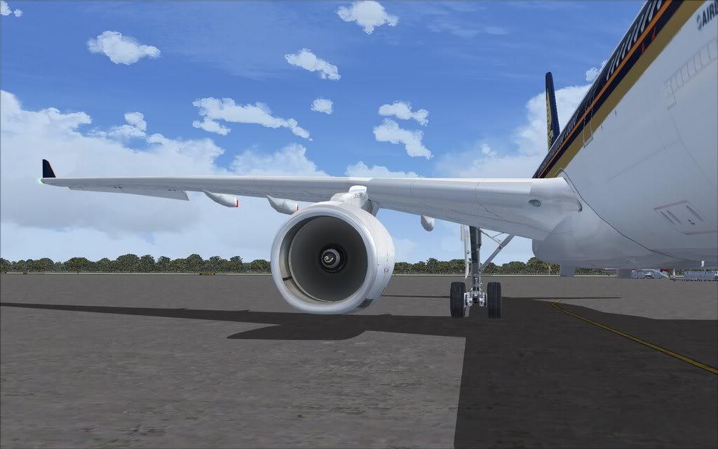 Airbus A330 Singapore Shot0012