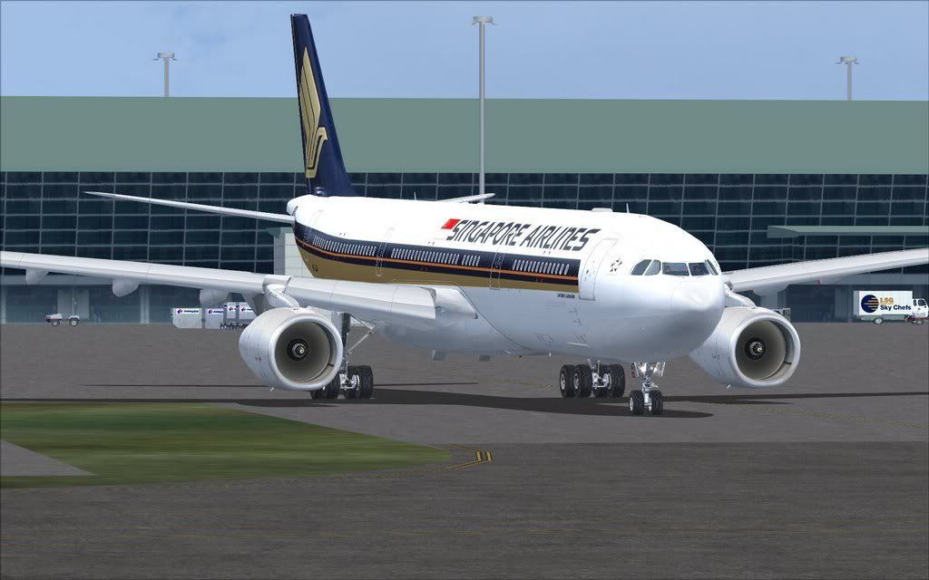 Airbus A330 Singapore Shot0013