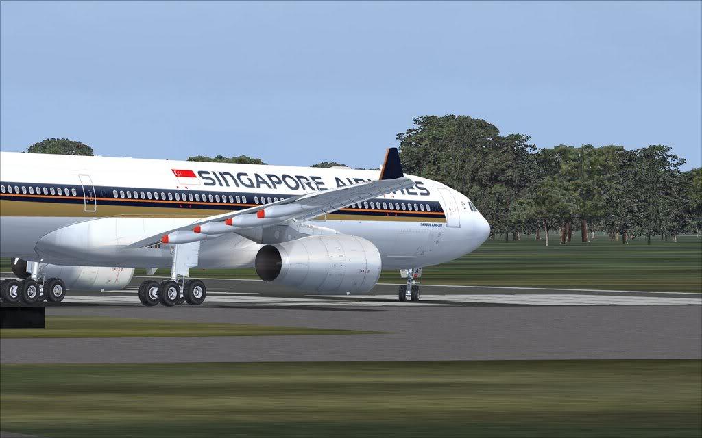 Airbus A330 Singapore Shot0014